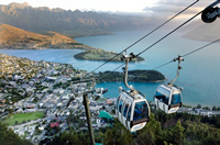 Photo of Queenstown, New Zealand, Skyline Gondola from the cable car